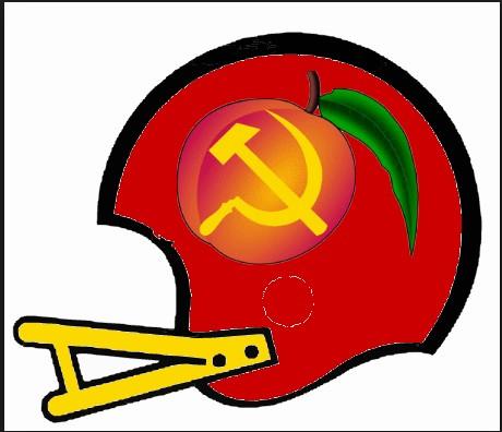 Peach Maoists New Football Helmet